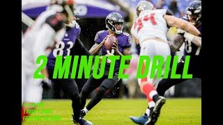 Lamar Jackson 2 min Drill || Baltimore Ravens Film Session || Week 15