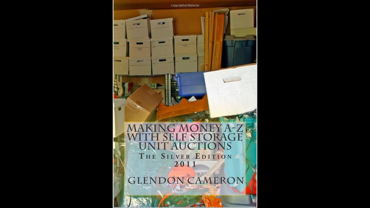 Storage Auction Book Making Money A Z With Self Units Auctions 2017 Ebook The Same