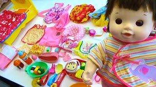 ほ ほ ちゃんのあたらしいオムツでおせわごっこ make nene chan stop crying the diaper changing set complete with baby wipe