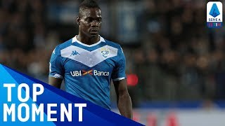 Balotelli Scores First Goal Of The Decade AGAIN! | Brescia 1-2 Lazio | Top Moment | Serie A TIM