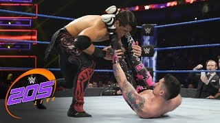Humberto Carrillo vs. TJP: WWE 205 Live, Feb. 19, 2019