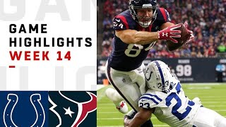Colts Vs Texans Week 14 Highlights I NFL 2018