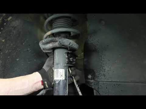 How to Replace Shocks & Struts on a Volkswagen Jetta