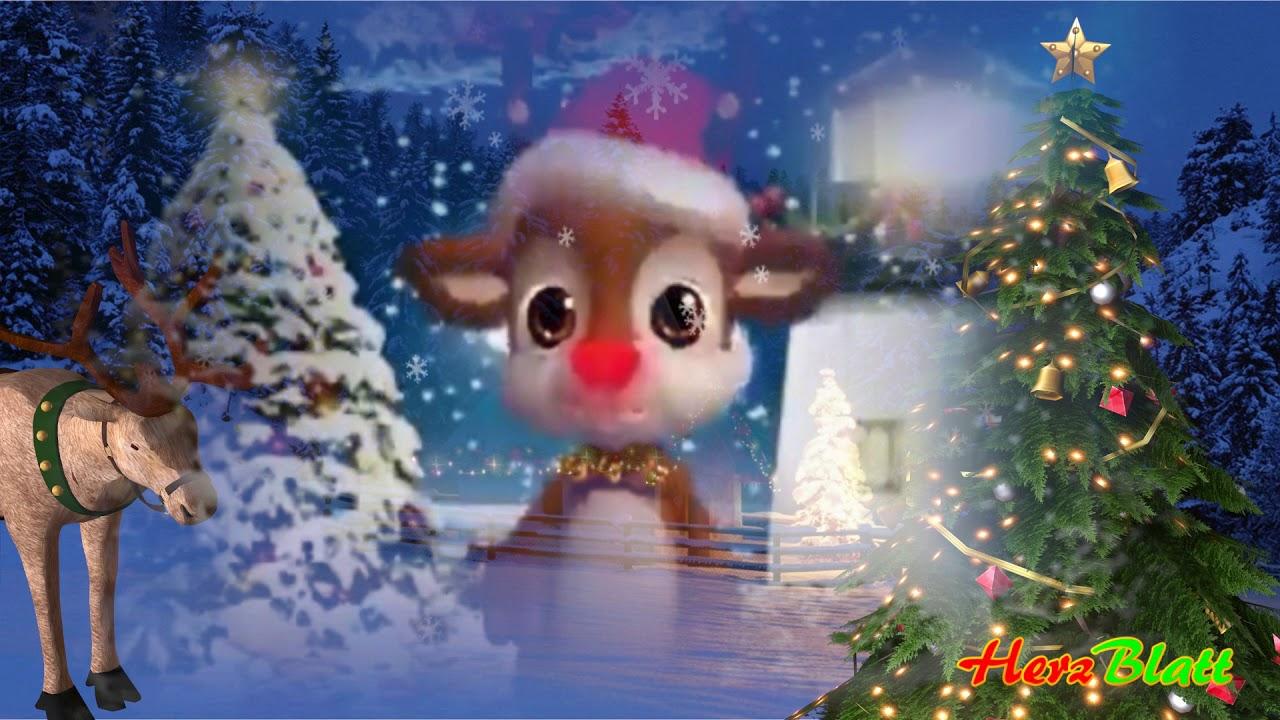 Weihnachtsgrüße In Die Ferne.Frohe Weihnachten Ich Schicke Dir Aus Der Ferne Eine Hand Voll Weihnachtssterne Advent Wünsche