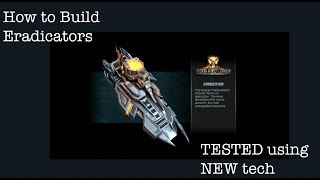 NEW Eradicator build [tested] Jan 2019