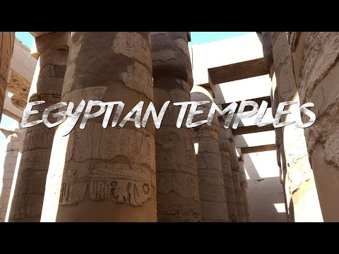 EGYPTIAN TEMPLES IN REAL LIFE