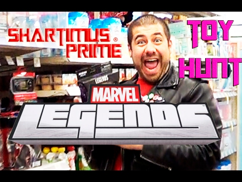 Marvel Legends Guardians of the Galaxy Vol  2 Toy Hunt with ShartimusPrime