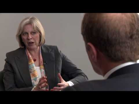 Theresa May (Conservative) interviewed by James Reed