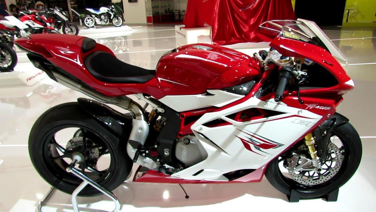 2014 MV Agusta F4 RR Walkaround - 2013 EICMA Milan Motorcycle ...