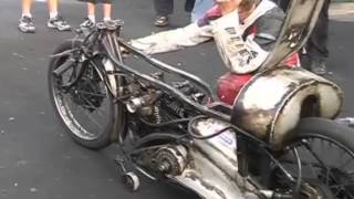 Worlds fastest Indian demonstration at Pukekohe NZ 2005