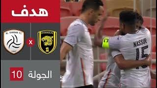 بالفيديو.. الشباب يحرز التعادل في مرمى الاتحاد