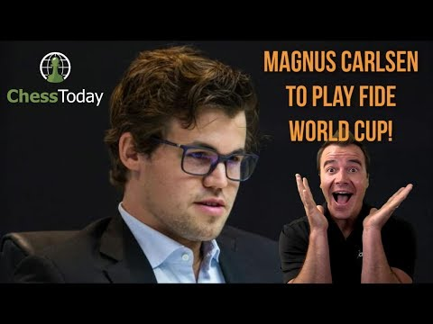 Chess Today: July 25th 2017 | Magnus Carlsen's World Cup And Social Life