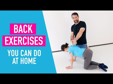 Back Exercises You Can Do At Home (no Equipment)