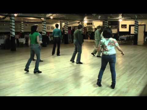 Linedance Lesson  Kickin' the Blues Choreo. Frank M. Beal  Music Earthquake  Ronnie Milsap