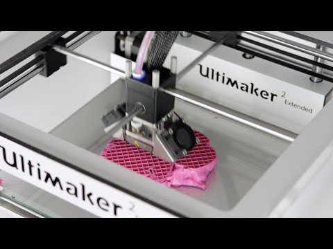 3D Printed Organ by Philips - Ultimaker: 3D Printing Timelapse