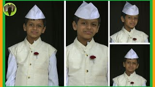Origami - Indian Cap(Gandhi / Jawaharlal Nehru Topi) - Using Newspaper - Very easy !