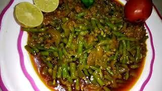 राजस्थानी चोले की फली की सब्जी खाने का मजा ही कुछ और है chole ki phali vesitable recipe
