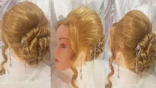 видео Как сделать объемный пучок - Прическа пучок- пошаговые техники выполнения на разной длине волос
