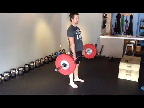 Toronto Beaches Personal Training - Barbell Deadlift (Hip Stability)