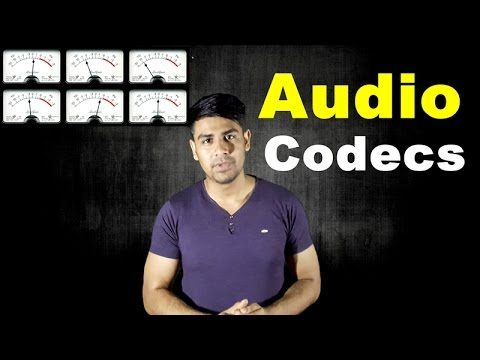 What are Audio Codecs ? | Compressed Audio Files (Explained In Hindi)