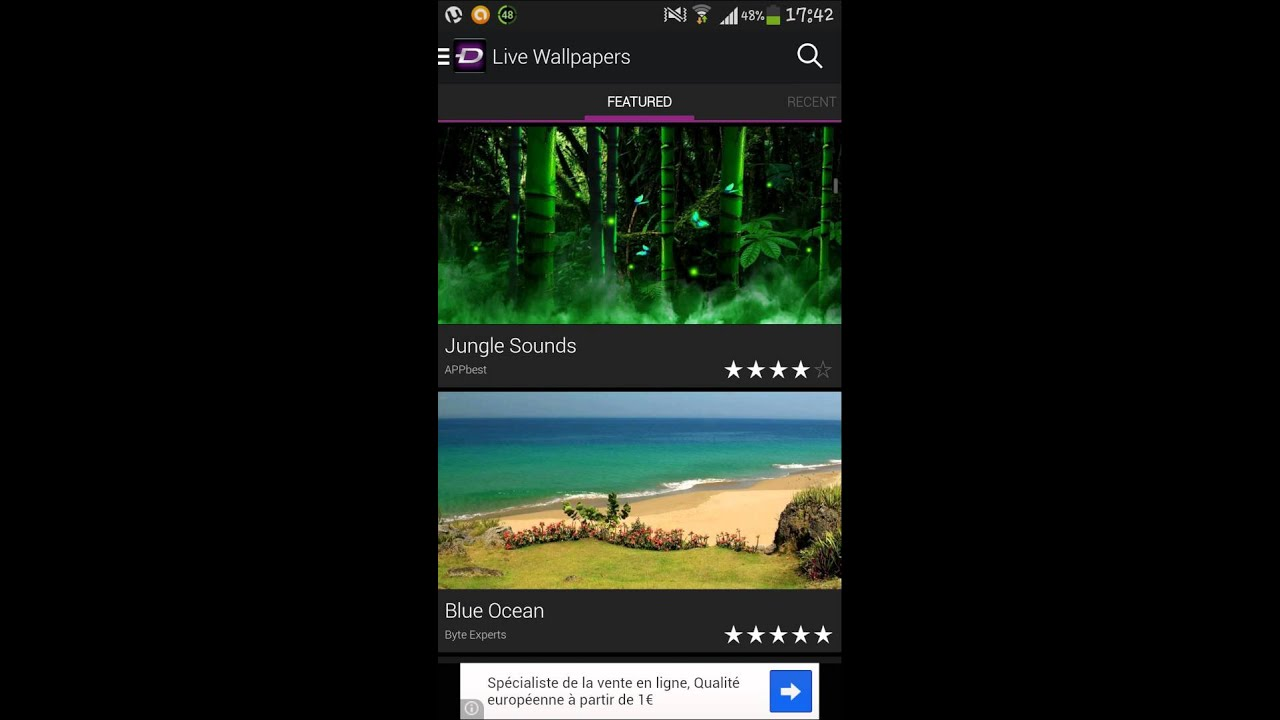 Présentation De L'application Zedge