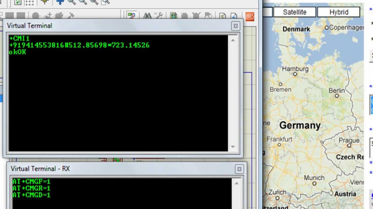 Real Time Vehicle Tracking System Using Gps Gsm And Google Maps Part