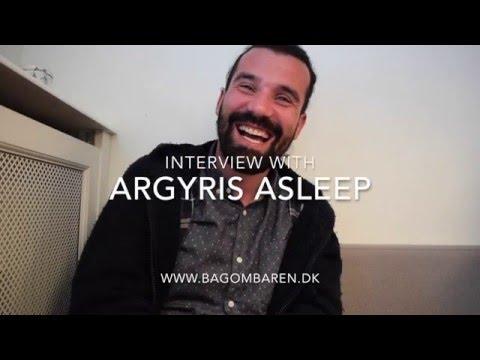 Bag om Baren interview with Argyris Asleep for Bacardi Legacy 2016
