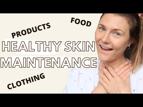 MAINTAINING HEALTHY SKIN after eczema | eczema healthy skin maintenance | natural eczema cure