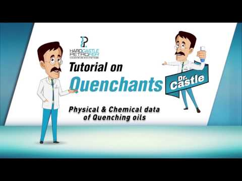 Doctor Castle: Physical, Chemical Data of Quenching Oils