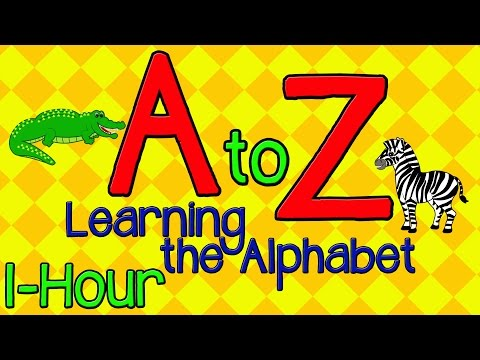 ABC Songs 1 Hour  Alphabet Learning  Animated Kids Songs  Preschool Toddlers