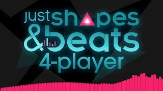 Just Shapes & Beats - MUSICAL BULLET HELL!! (4 Player Gameplay)