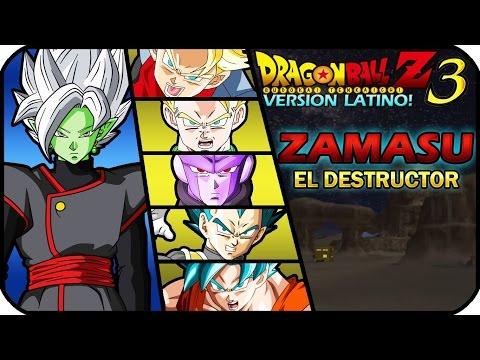 DRAGON BALL Z BUDOKAI TENKAICHI 3 VERSION LATINO GAMEPLAY LA FUSION DE BLACK Y ZAMASU