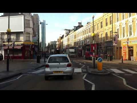 London streets (290.) - Ford Road (Dagenham - RM10) - Boundary street (E2)