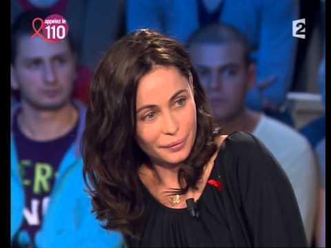 Emmanuelle Béart  On n'est pas couché 29 mars 2008 ONPC