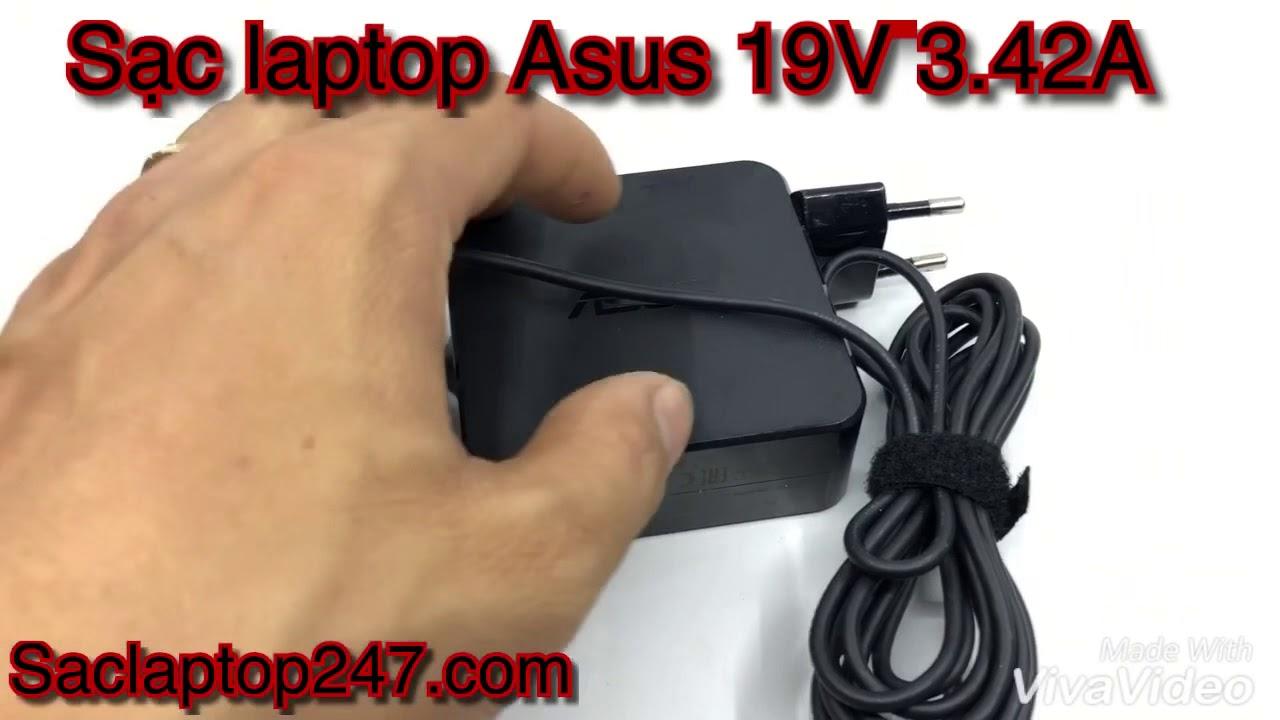 Sạc laptop Asus 19V 3.42A chính hãng – SĐT: 0963.731.908