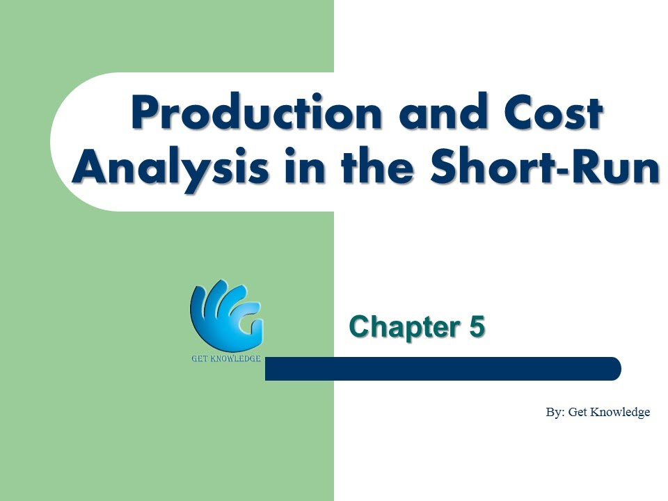 analytical analysis on production and cost pdf