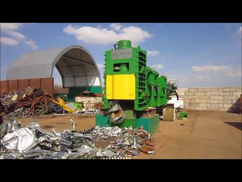 M6 715 Shear Baler Logger by GPS Scrap Processing Solutions