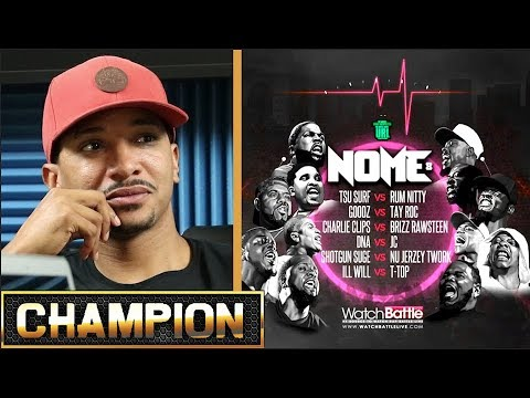 CHAMPION | L.O.M.E. 8 - TSU SURF VS RUM NITTY - SMACK/URL