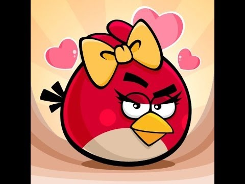 Drawing Angry Birds Girl Angry Birds Red Girl