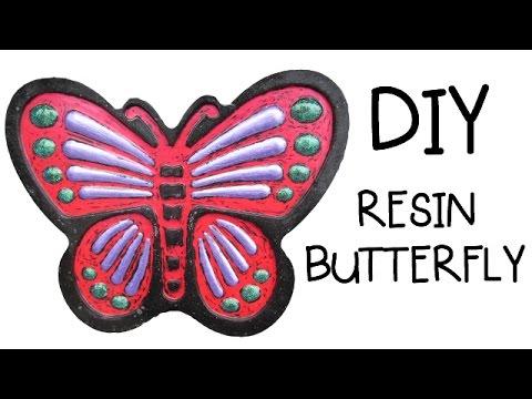 Resin Butterfly DIY Craft Klatch