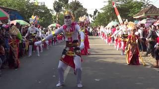 Karnaval Tempeh Lumajang HUT KE-72 RI - Pemerintah Desa Besuk : Sendra Tari Anoman Obong