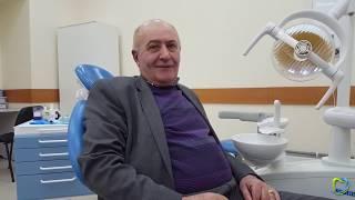 Отзыв - 14 имплантатов «Osstem» и мостовидный несъемный протез - Стоматология «ECONOMSTOM»