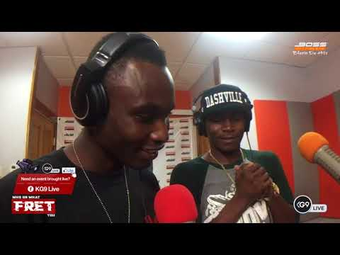 Who Or What Fret You (Feat. Dash) | Boss Fm Grenada | KG9 Live