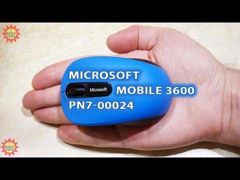 Миша Microsoft Mobile 3600 Bluetooth Red (PN7-00014)