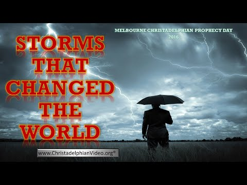 Storms sent by God that Changed the World