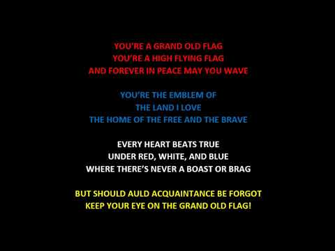 Chord Lirik Youre A Grand Old Flag Us Air Force Concert Band