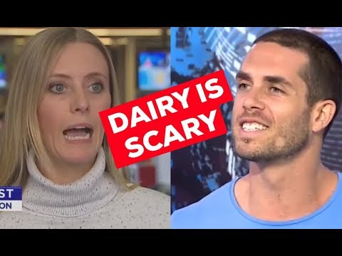 Dairy is scary AND scared | Plant Based News