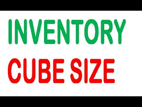 Inventory Cube Size thumbnail