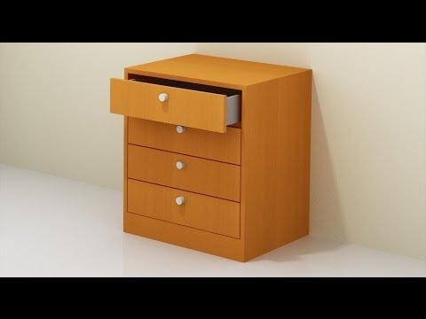 Como montar cajones youtube for Cajones para muebles