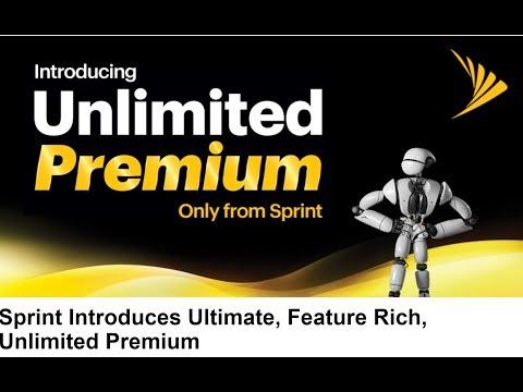 SPRINT Unlimited Premium Data Plan Brings TONS OF GOODIES!!